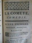 La comète- 1681